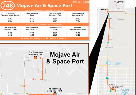 Route 748 - Mojave Air & Space Port Photo