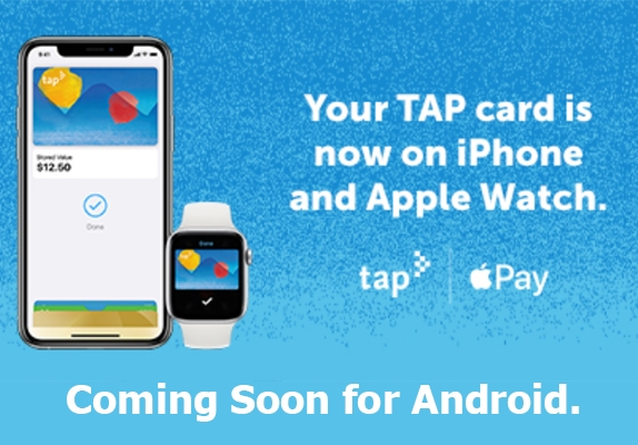 The Benefits of TAP Cards Photo